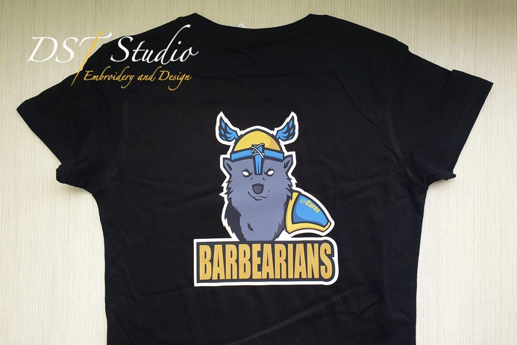 Тениски с трансферен печат